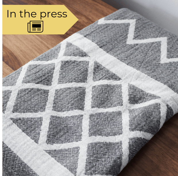 Grey Hammam Turkish Towel