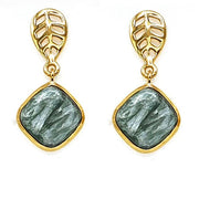 Seraphinite Isha earrings