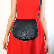 Nadia - Small Leather Crossbody Bag