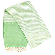 Riza Hammam Towel, Green