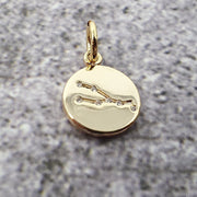 18k Gold Astra Constellation Pendant Charms - Taurus
