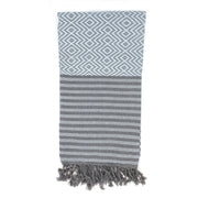 Organic Cotton Baby Blue Beach Towel