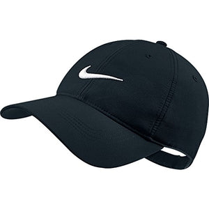 Nike Tech Swoosh Cap, Black/White, One Size