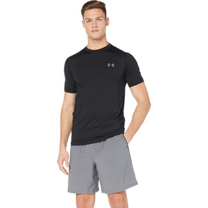 Under Armour Men's Raid Short Sleeve T-Shirt, Black/Graphite