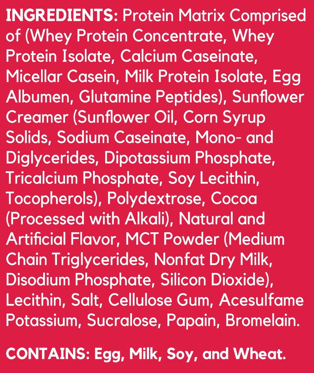 BSN SYNTHA-6 Whey Protein Powder, Micellar Casein, Milk Protein Isolate, Chocolate Milkshake, 48 Servings (Packaging May Vary)