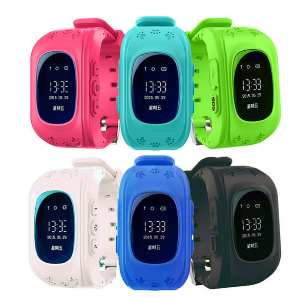 Kids Smartwatch with GPS localiser and SOS function