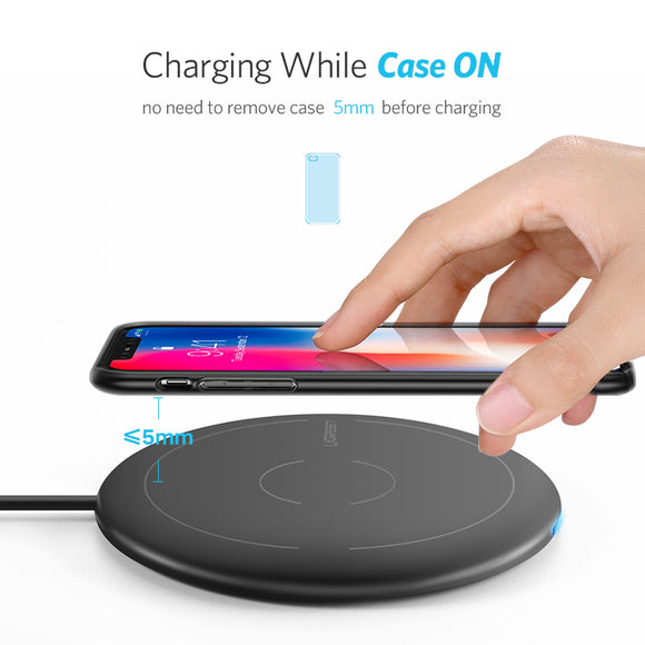 Wireless charger for iphone samsung and other smartphone