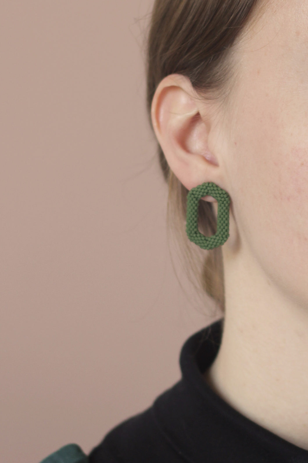 Link Earring - Green