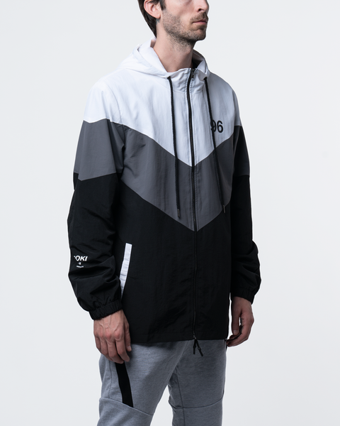 Pokimane Herringbone Windbreaker