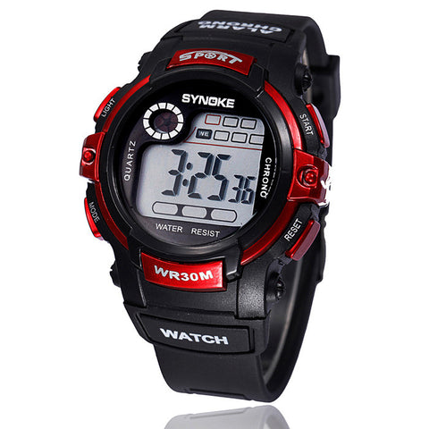 Multi function Digital LED Waterproof Watch