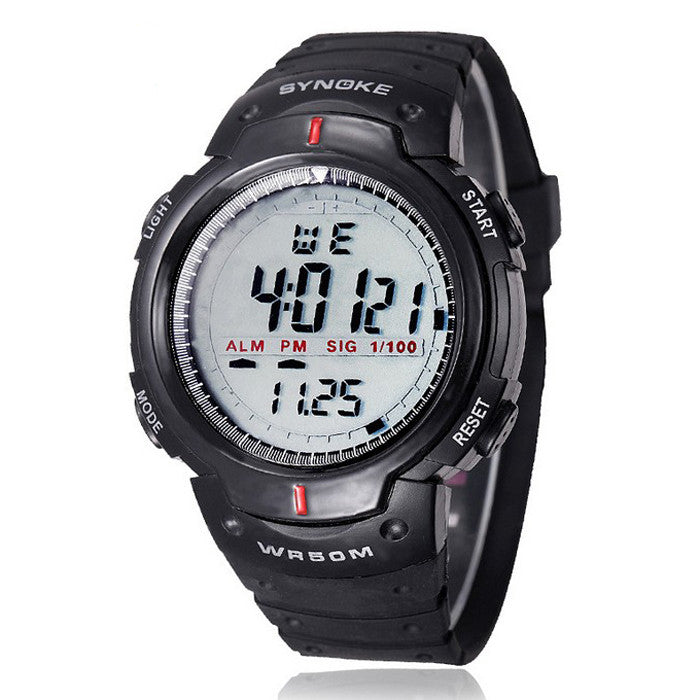 Waterproof Outdoor Sports Digital LED Watch