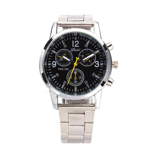 Stainless Steel Sport Hour Dial Watch