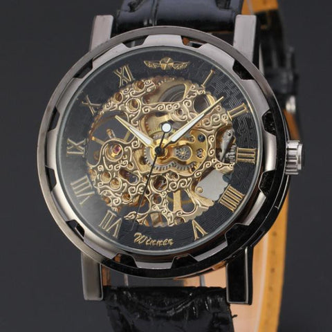 Skeleton Mechanical Sport Watch