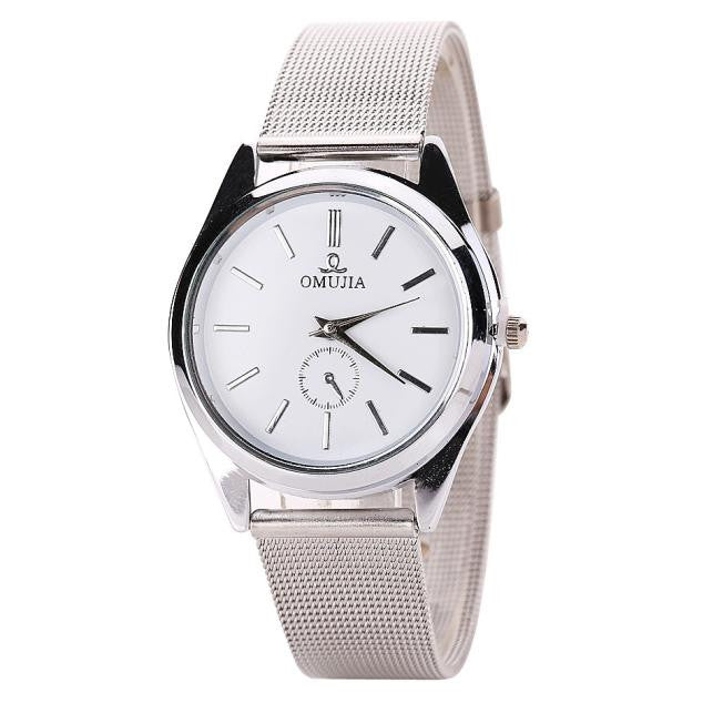 Luxury Stainless Steel Band Watch