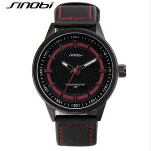SINOBI top brand sports men waterproof fashion watch