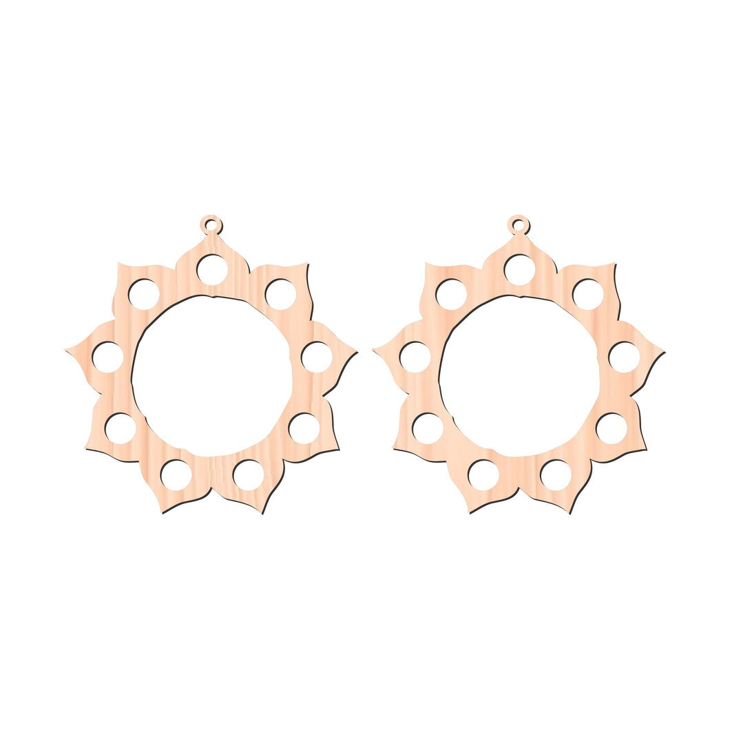 Earring Cutouts - Wild Horse Timber