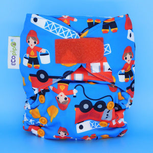 One Size G3 Pocket Nappy - Print