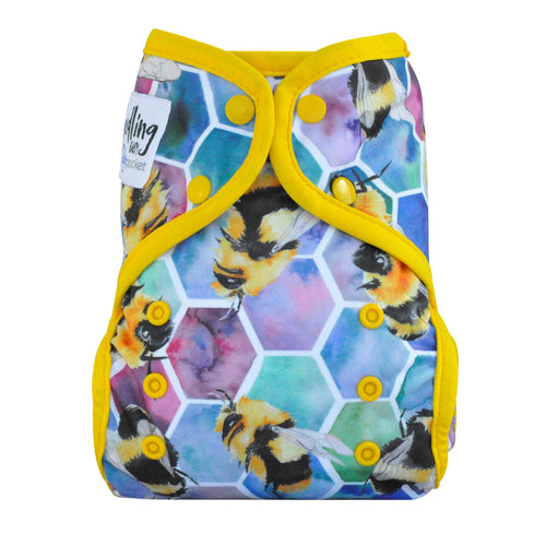 Multi-Fit Pocket Nappy - Print