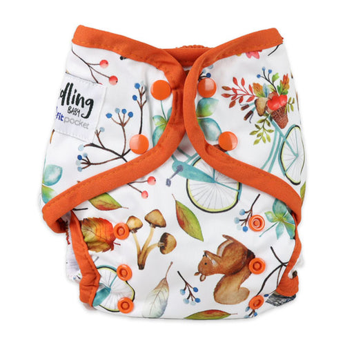 Seedling Baby Reusable Cloth Nappy Autumn Multifit Pocket Nappy