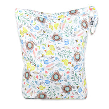 Load image into Gallery viewer, Seedling Baby Reusable Spring Beach Bag Medium Wetbag