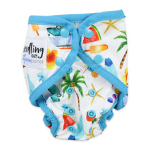 Load image into Gallery viewer, Seedling Baby Reusable Swimming Cloth Nappy Summer Paddle Pants