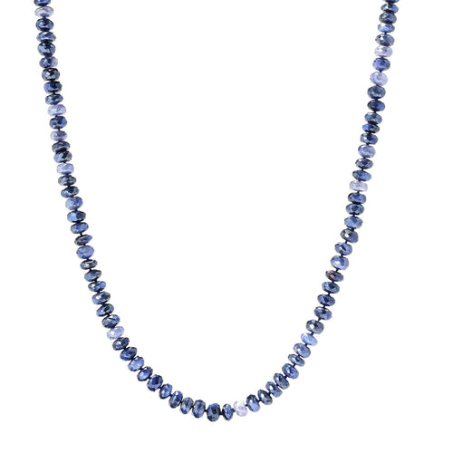 "Pinctore 35"" Blue Moonstone Endless Beaded Necklace - pinctore"