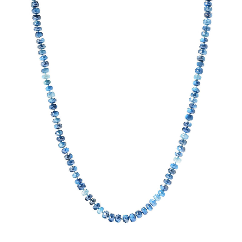 "Pinctore 35"" Teal Moonstone Endless Beaded Necklace - pinctore"