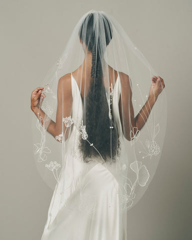 HANA VEIL - New Phrenology wedding veils