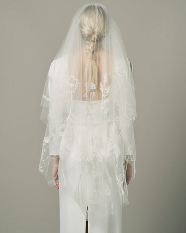 MEADOW VEIL - New Phrenology wedding veils