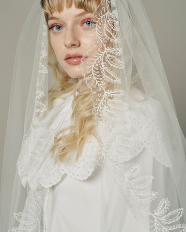 MIMOSA VEIL - New Phrenology wedding veils