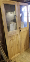 "Glass pantry doors 42"" wide x 72"" tall"