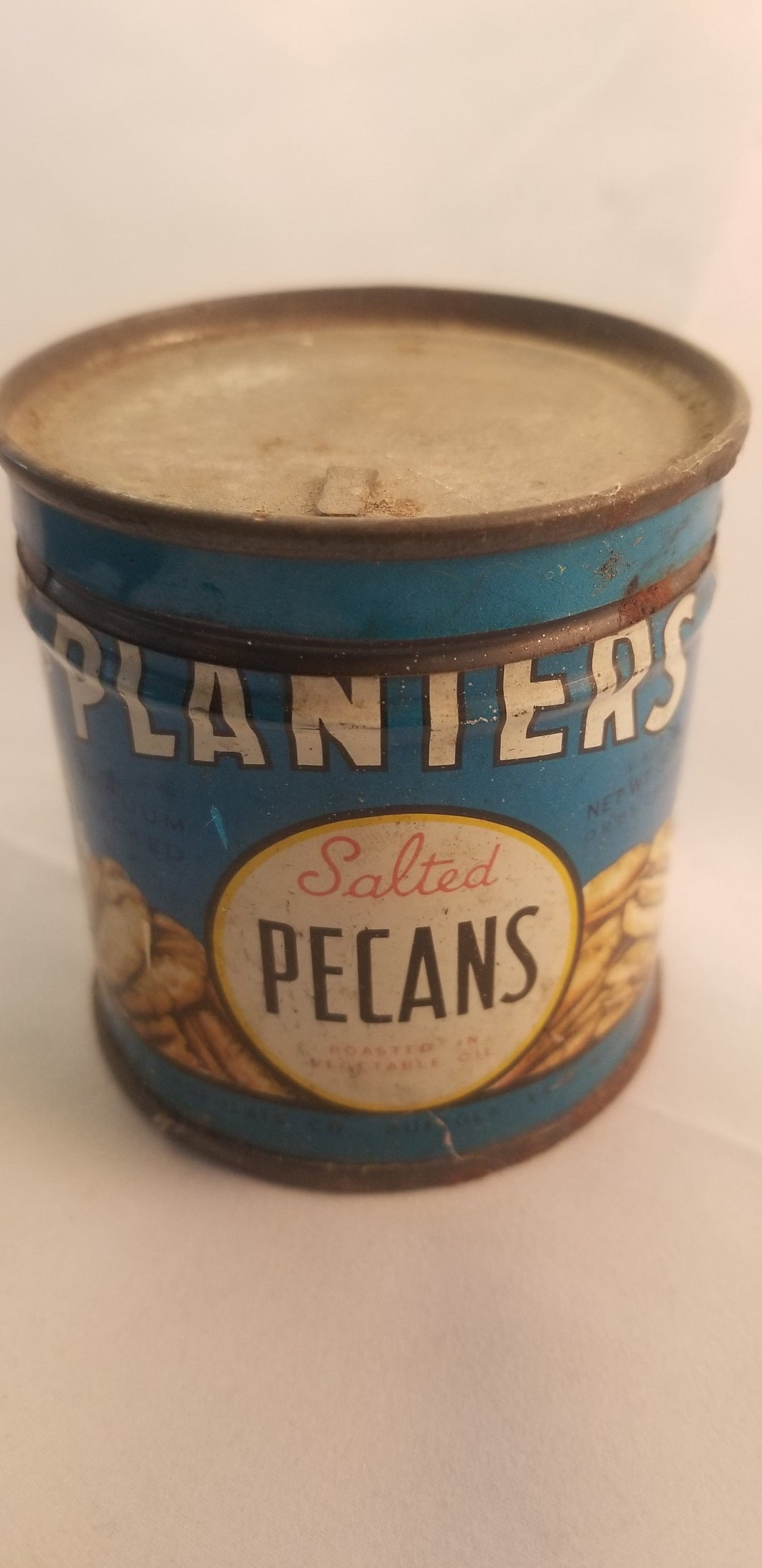 Planters Pecan can.  Never opened!