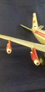 TWA battery powered toy airplane flight #B4916F