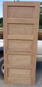 "32"" x 79"" x 1 3/8"" thick raised 5 panel bedroom door"