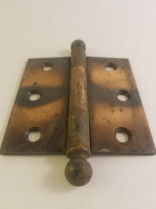"3"" x 3"" copper flashed hinge"
