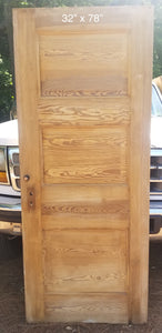 "32"" x 78"" Raised 3 panel bedroom door"