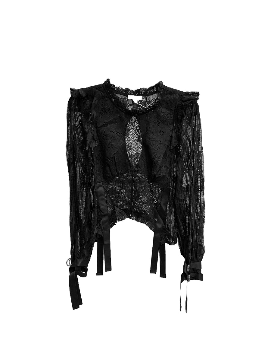 ABIGAIL BLOUSE | BLACK