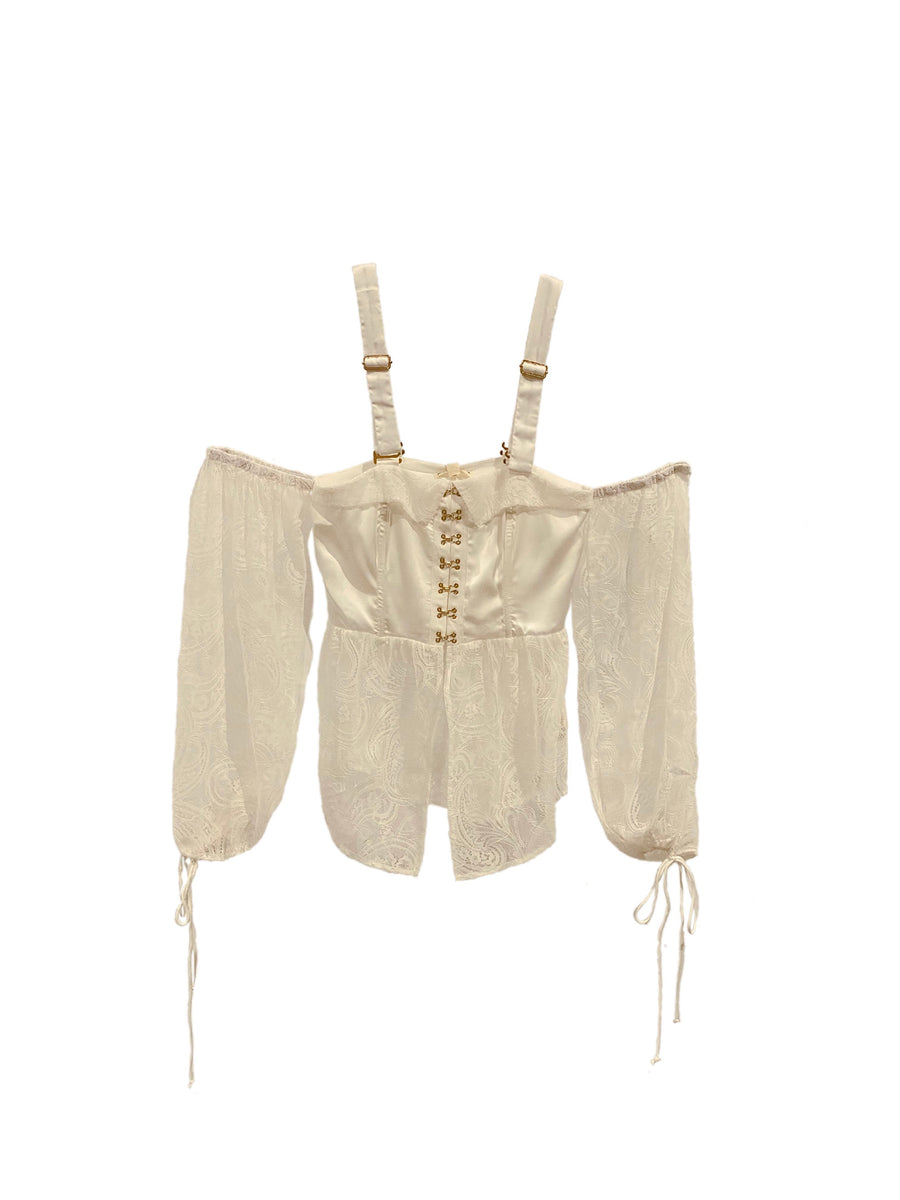 SABINA LACE BLOUSE