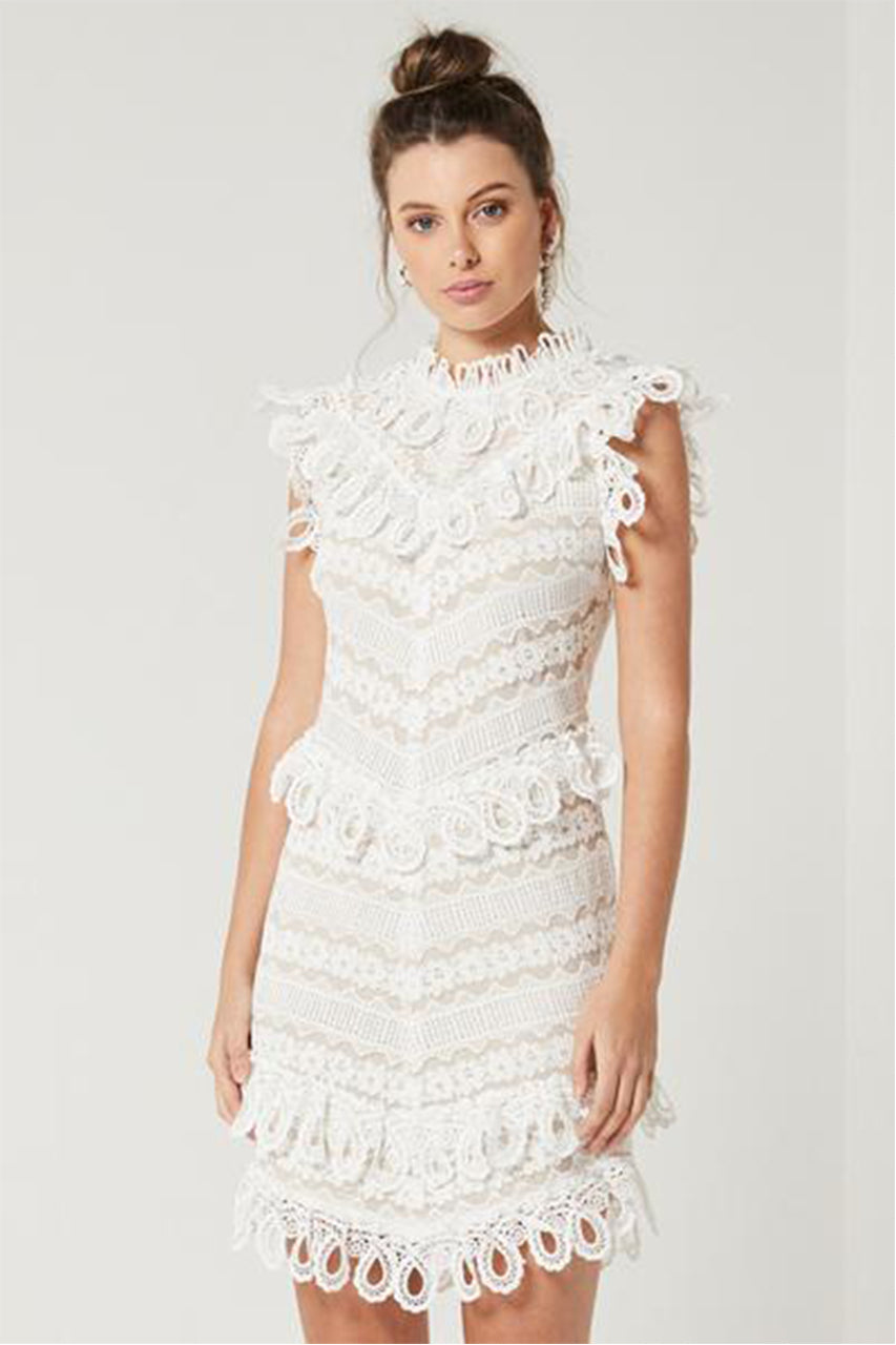 TERRACE DRESS | WHITE