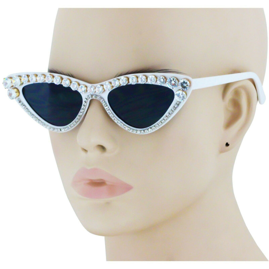 Blinky Diamond Cat Eye Sunglasses