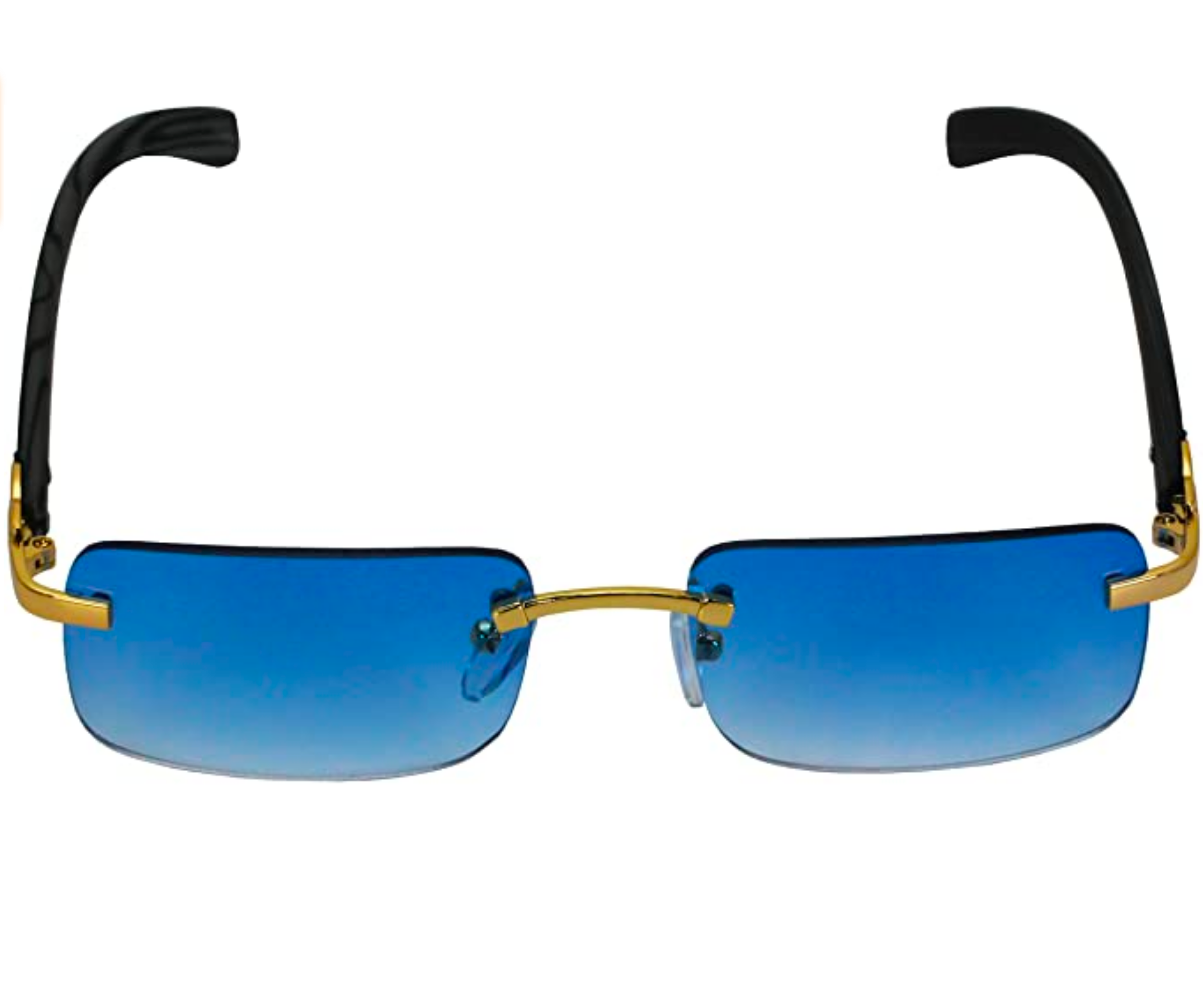 Wood Buffs Blue Tinted Shades