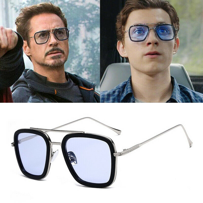 Tony Stark Sunglasses - Spider Man Glasses - Sunglasses from Far From Home & Avengers Endgame - Edith Glasses