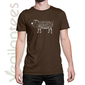 Compassion for Pigs Vegan Unisex T