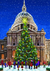 St. Paul's at Christmas