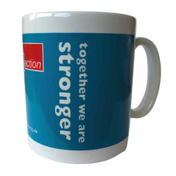 Set of 4 Epilepsy Action branded mugs