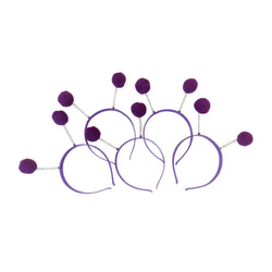 Purple Day deeley boppers (one size)