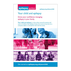 Your child and epilepsy - Online course Flyer