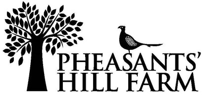 Pheasants Hill Farm Logo with tree and pheasant