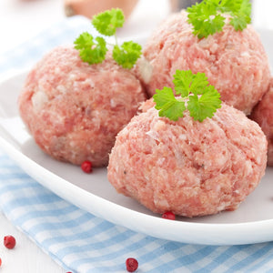 Free range Tamworth pork sausage meat made with gluten free ingredients