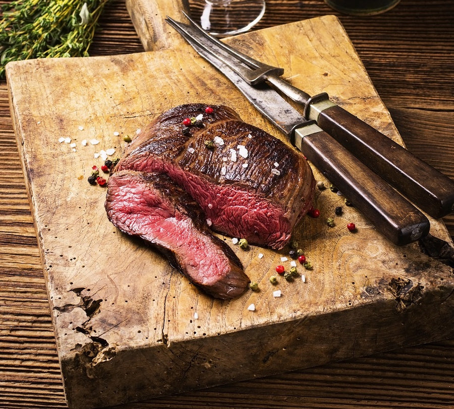 Wild venison loin sharing steak (450 g)